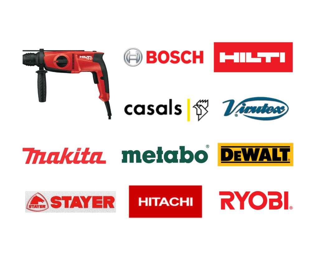 maquinaria portátil logos