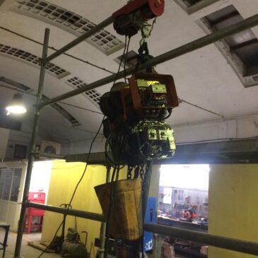 Reparación y mantenimiento de Polipasto 2T